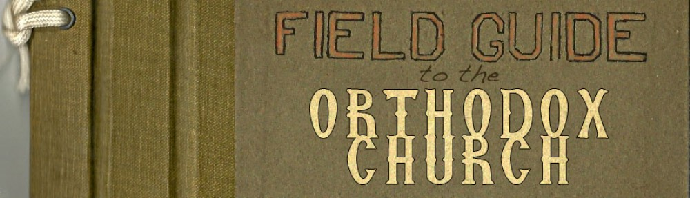 A Field Guide to the Orthodox Church